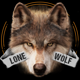 الشعار Lone Wolf Wallpaper and Keyboard